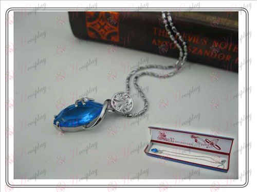 Final Fantasy Accessories Collector's Edition hardcover necklace (blue)