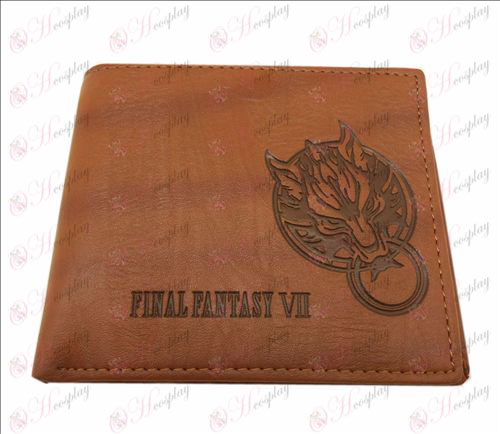 Blister Final Fantasy Accessories leather wallet