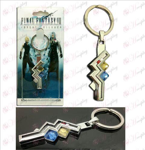 Final Fantasy Digitales13 Trueno colgante llavero encanto