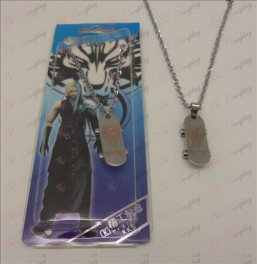 DFinal Fantasy Accessories Skate Necklace Halloween Accessories Online Store