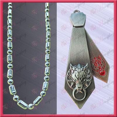 Final Fantasy Accessories-Langtou tie necklace (movable)