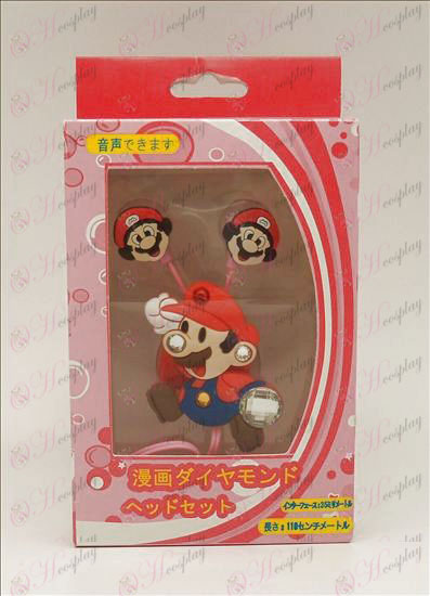 Diamond Super Mario Bros Accessories Voice Headset