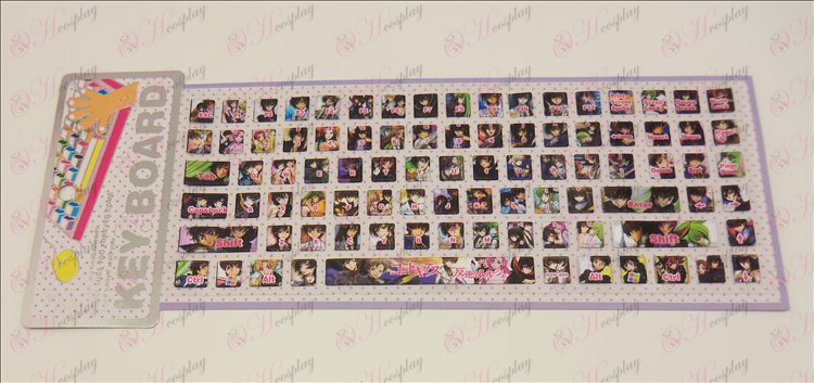 PVC keyboard stickers (Lelouch) Halloween Accessories Online Store