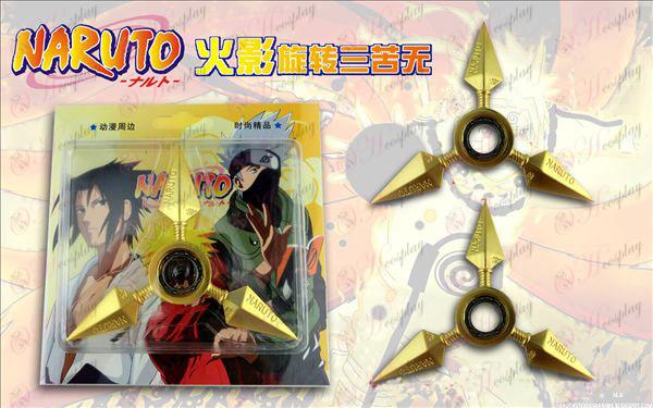 Naruto rotating three bitter no gold