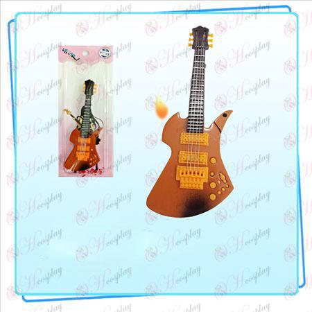 Luz dulces sonidos de guitarra más ligera de color (naranja)
