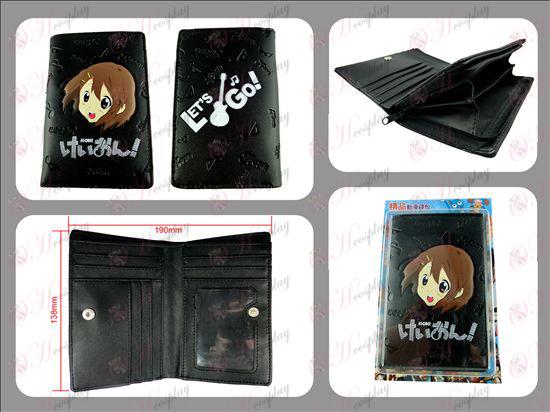 Long light tone embossed wallet with zipper Halloween Accessories Online Store