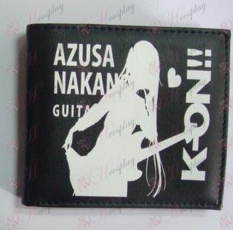 K-On! Tilbehør lommebok (svart)