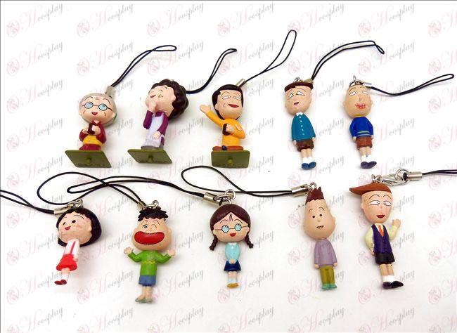 10 small balls doll machine rope