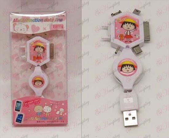 Multi Charging Cable (Chibi Maruko Chan Accessories)