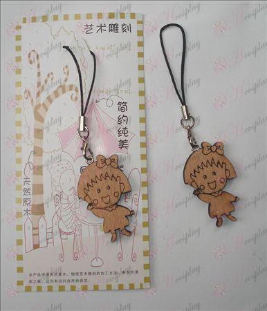Maruko wood engraving Strap (a)