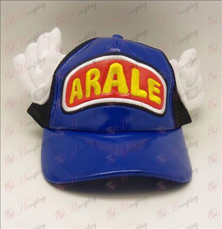 D Ala Lei hat (blue - red)