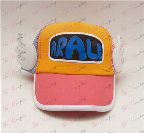 D Ala Children hat (rhubarb)