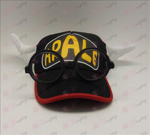 Ala Lei hat + glasses (black)