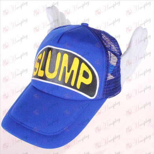 Ala Lei Xiaoyun blue mesh hat