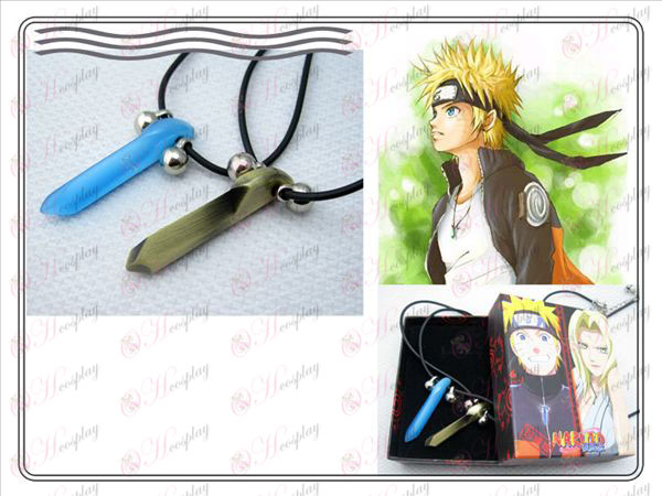 Naruto Naruto par collar Yugen (azul + bronce)