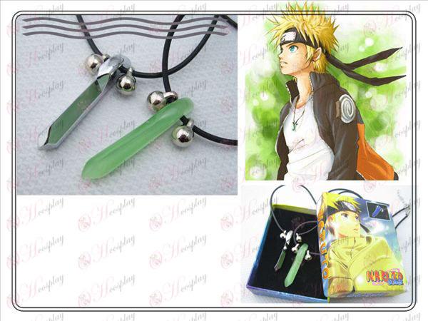 Naruto Naruto Yugen collar (verde + color metálico)