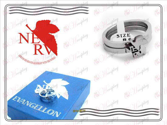 EVA Accessories Ling Boli stainless steel couple rings