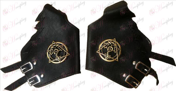 Fullmetal Alchemist Tempered array punk gloves copper