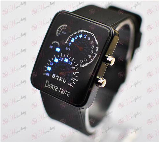 (19) Death Note Príslušenstvo-m parabolická anténa hodinky