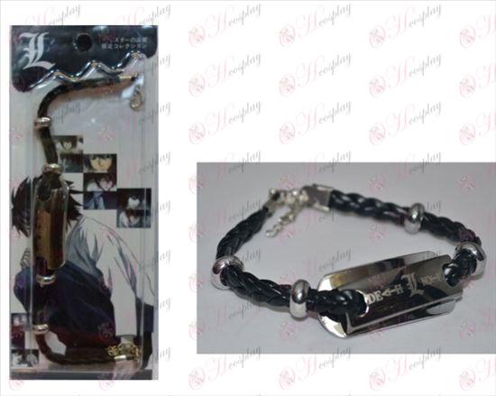 Death Note Príslušenstvo shuangpai kožený náramok