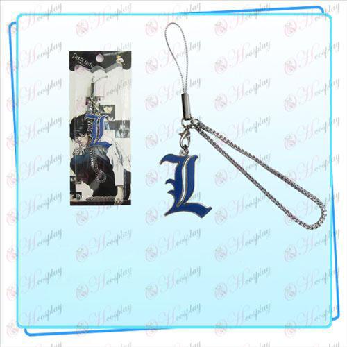Death Note AccesoriosL Correa bandera (azul)