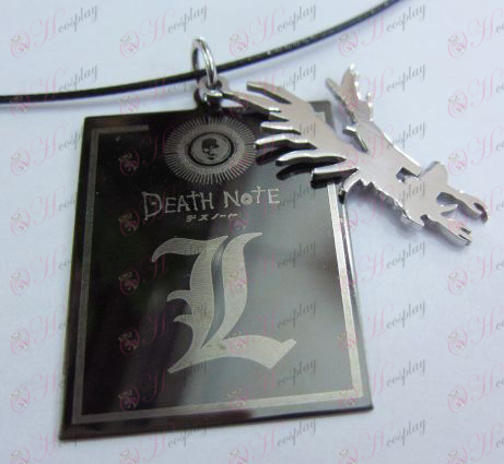 Death Note Accessories shuangpai steel chain Halloween Accessories Online Store