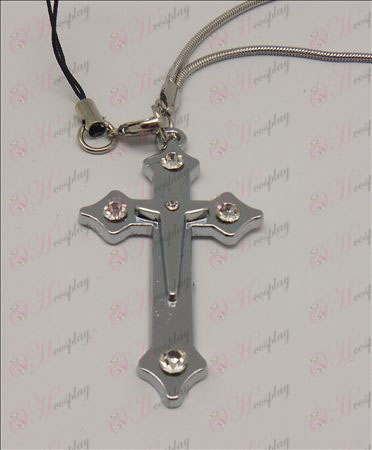 Blister Death Note Accessories Cross Strap (White)
