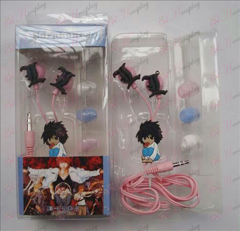 Death Note Accessories Headphones (L squatting) Halloween Accessories Online Store