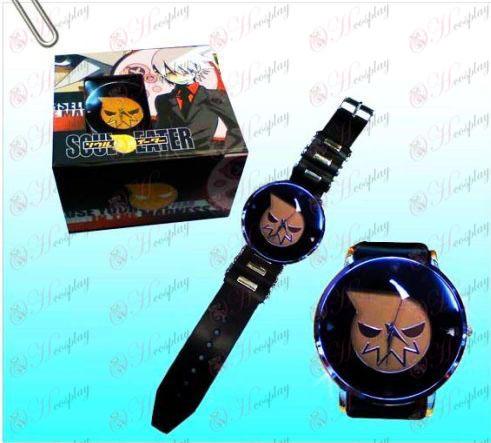 Soul Eater Accesorios Negro relojes