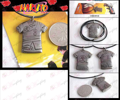 Naruto Gaara clothes necklace