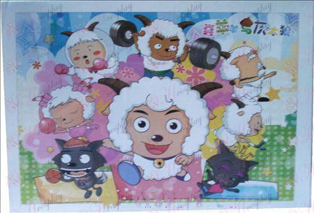 Koza a Big Vlk Doplnky puzzle 10-433