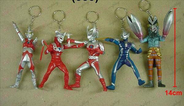 9 on behalf of five models Superman Keychain