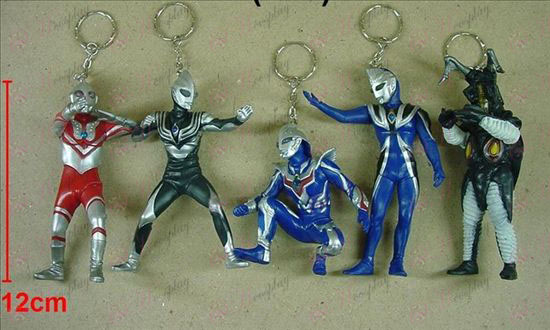 10 on behalf of five models Superman Keychain