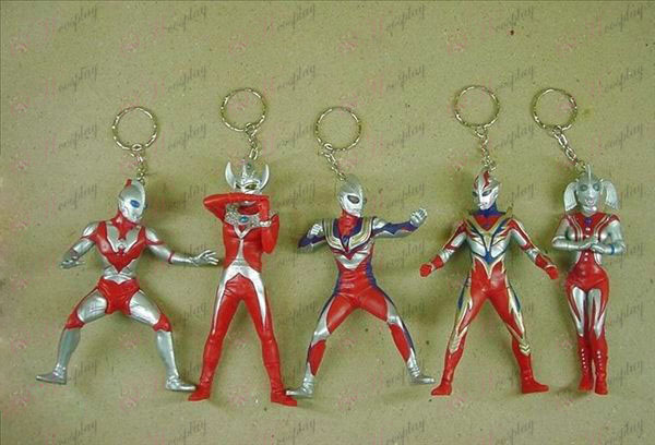 8 on behalf of five models Superman Keychain