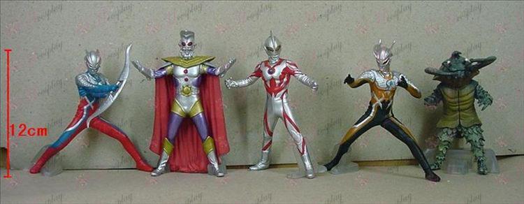 5 Generasjon 5 modeller Superman Ultraman Tilbehør Base (506)