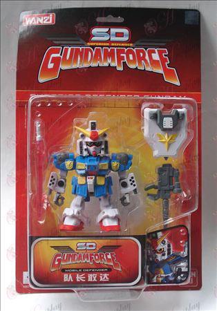 Bandai Gundam Tilbehør kaptein Gundam 17 001