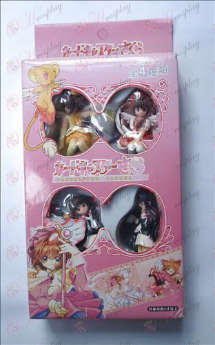 4 models Cardcaptor Sakura Accessories Gift Pack small hands to do