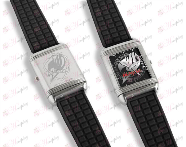 Dual relojes literalmente flip (Fairy Tail Accesorios)
