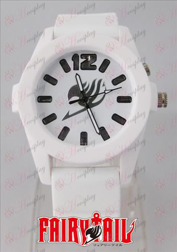Fairy Tail Accessories colorful flashing lights Watch - White