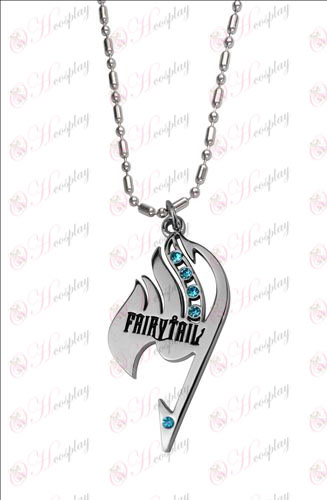 Fairy Tail with diamond necklace (Blue Diamond) Halloween Accessories Online Store