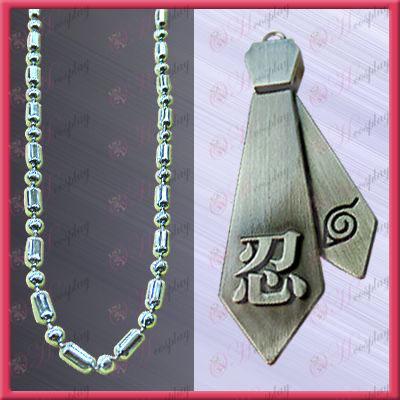 Naruto - word tolerance tie necklace (movable)