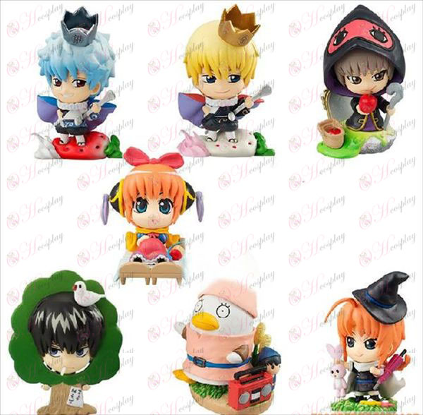 Gin Tama Accessories theatrical piece Snow White egg boxes full seven models