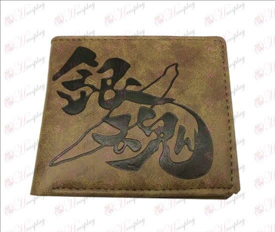 Gin Tama Accessories matte wallet