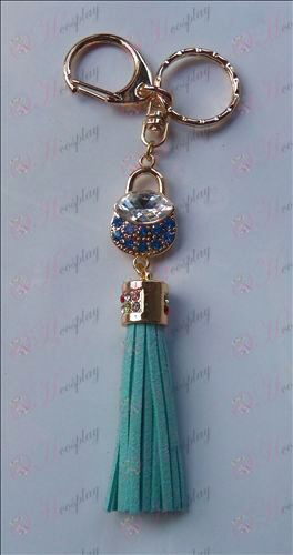Fruits Basket Accessories Blue Diamond Keychain