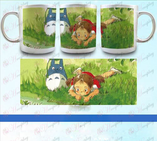 YB098-My Neighbor Totoro Accessories pearlescent silver cup