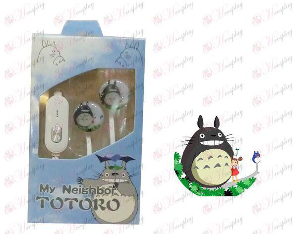 Línea plana puede expresar headset Mi Vecino Totoro Accesorios