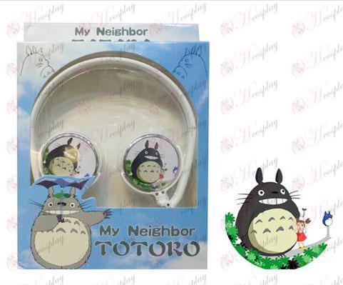 Auriculares estéreo se puede plegar los auriculares conmutación Mi Vecino Totoro Accesorios