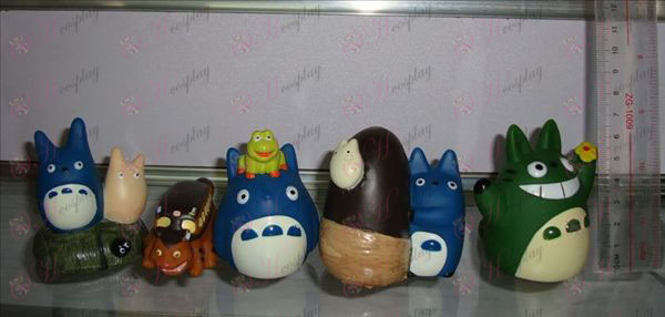 5 modelos Azules Mi Vecino Totoro Accesorios Doll