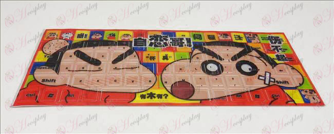 PVCCrayon Shin-chan Accessories keyboard stickers