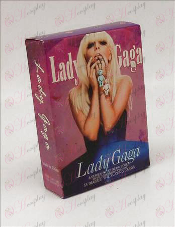 Vydanie v tvrdých of Poker (ladygaga)